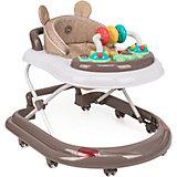 Ходунки Happy Baby Smiley V2, коричневые
