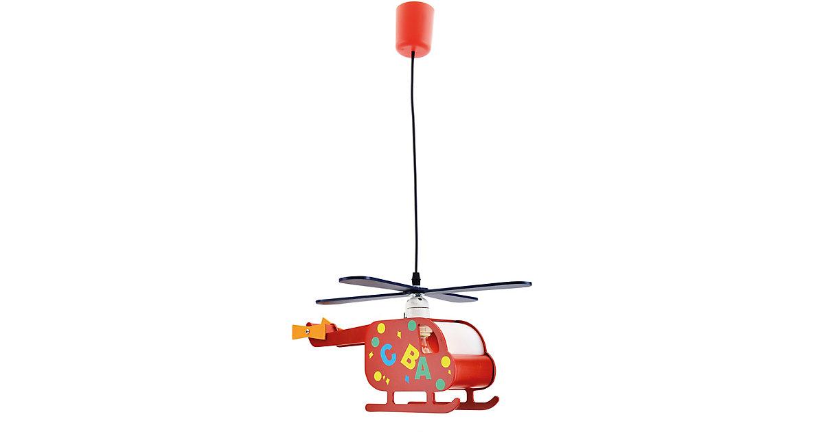 Näve · Pendelleuchte Hubschrauber, rot/blau