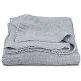 "Вязаный плед Jollein ""Melange knit"" soft grey, 75х100 см"