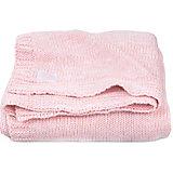 "Вязаный плед Jollein ""Melange knit"" soft pink, 75х100 см"