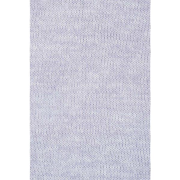 """Вязаный плед с мехом Jollein """"Melange knit"""" soft lilac, 75x100 см"""
