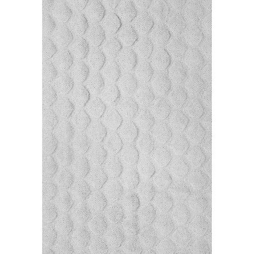 """Вязаный плед Jollein """"Fancy knit"""" soft grey, 75x100 см от Jollein"""