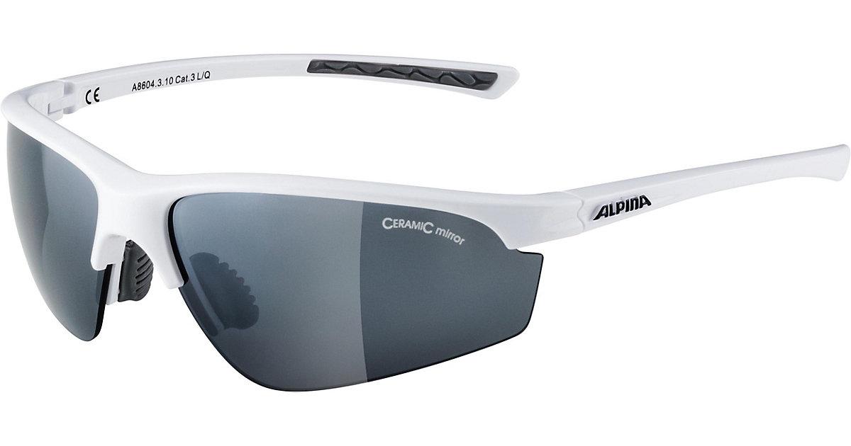 ALPINA · Sonnenbrille tri effekt weiss