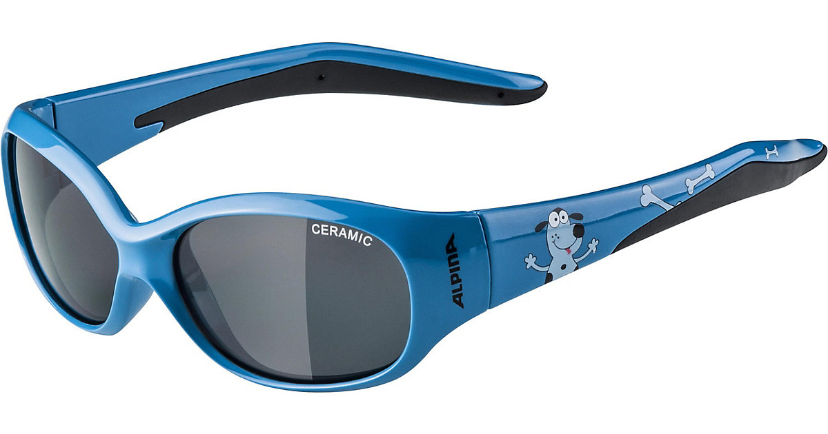 ALPINA · Sonnenbrille flexxy kids blue dog