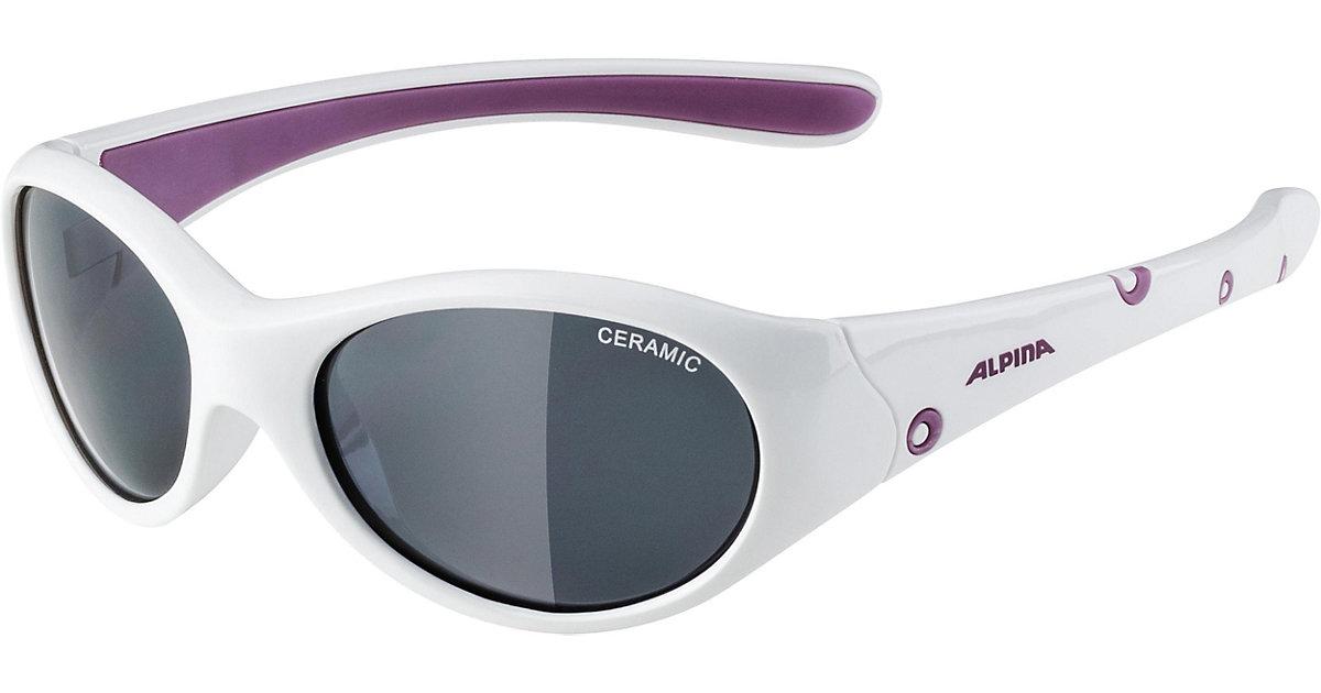 ALPINA · Sonnenbrille flexy girl white purple Mädchen Kinder