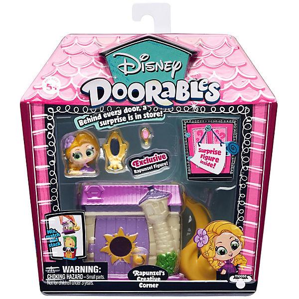 """Игровой набор Moose """"Disney Doorables"""" Рапунцель: Запутанная история, 2 фигурки"""