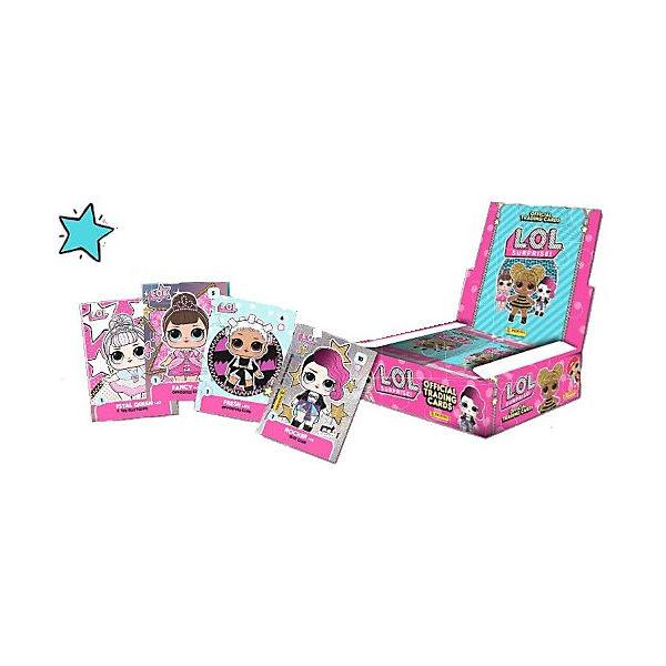 Бокс Panini LOL Surprise, 24 пакетика по 6 карточек