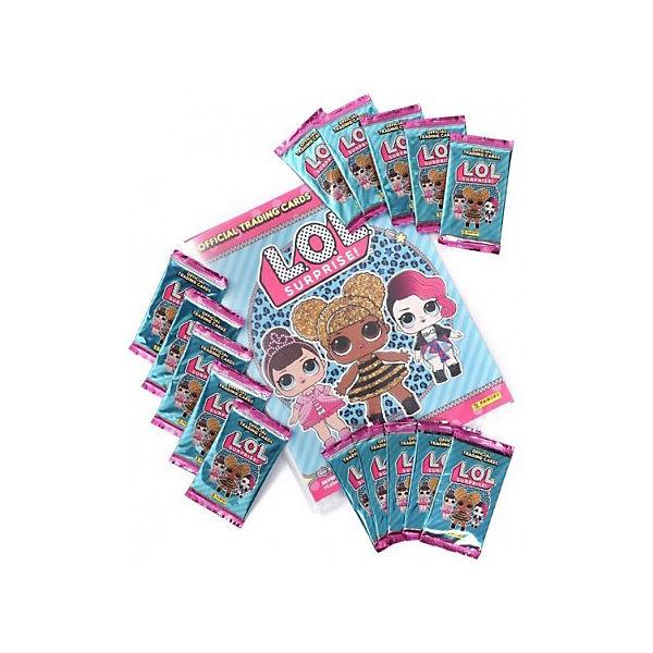 Карточки Panini LOL Surprise, 1 пакетик - 6 карточек