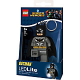Брелок-фонарик для ключей Lego DC Super Heroes: Grey Batman