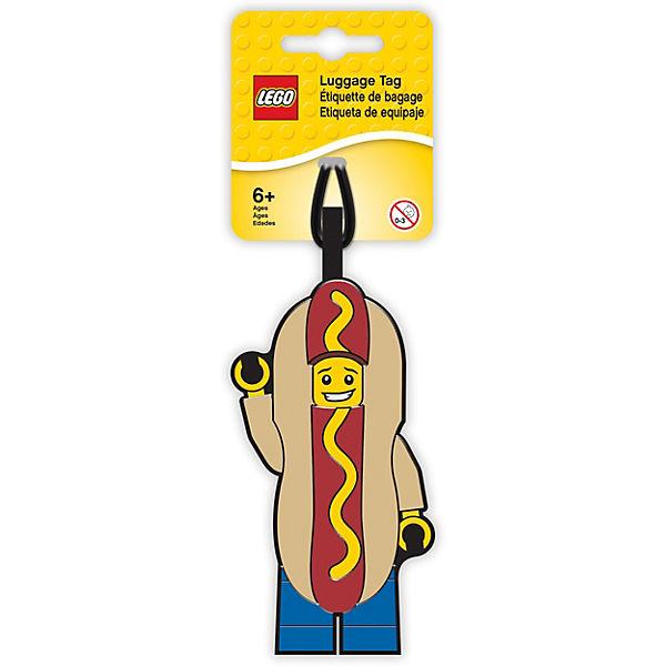 Бирка для багажа Lego Hot Dog