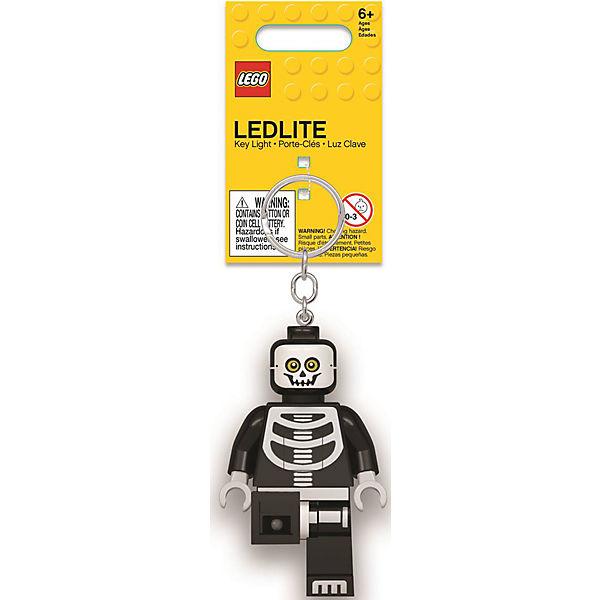 Брелок-фонарик для ключей Lego, Skeleton