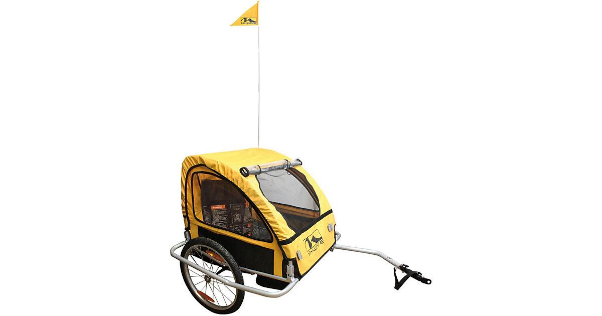 M-WAVE · Kinder- und Gepäck-Fahrradanhänger ´´Kids Ride Easy´´