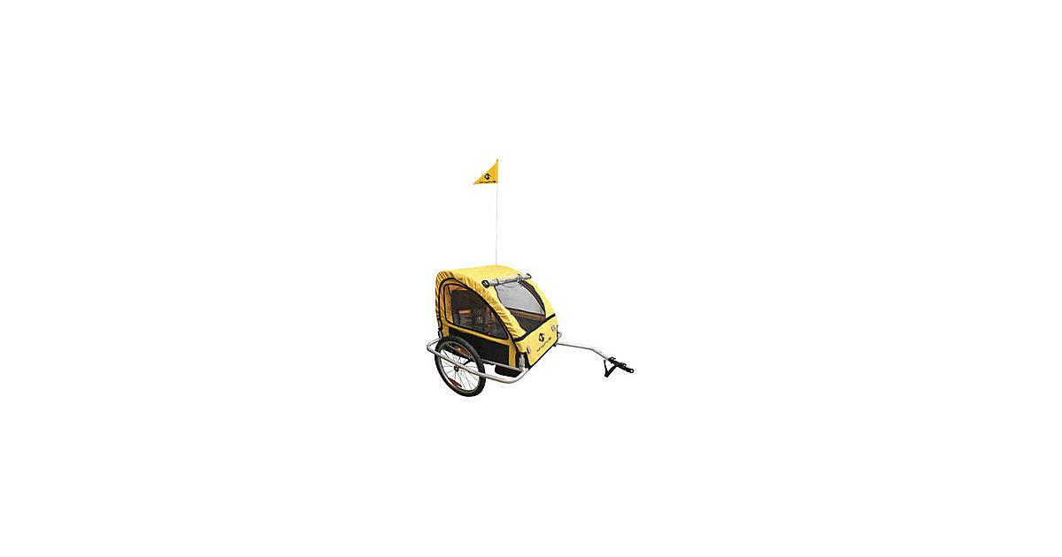 M-WAVE · Kinder- und Gepäck-Fahrradanhänger ´´Kids Ride Easy A´´
