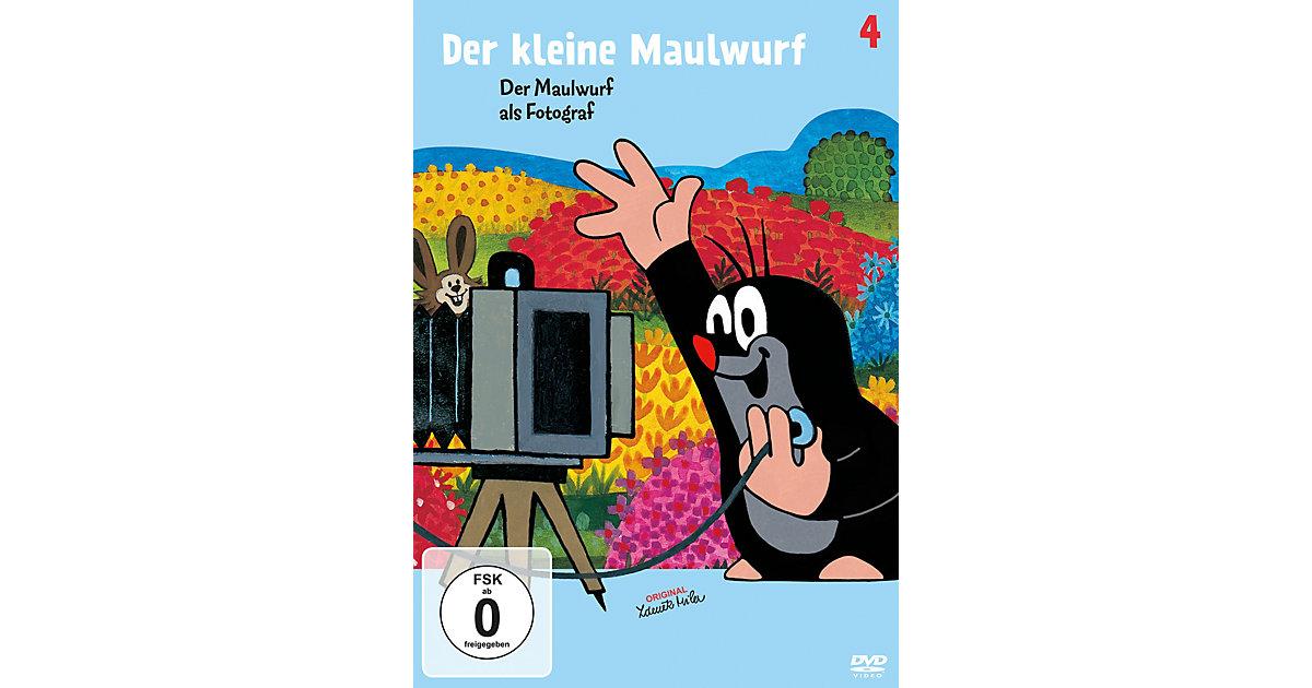 DVD Der kleine Maulwurf 4 - Der Maulwurf als Fotograf