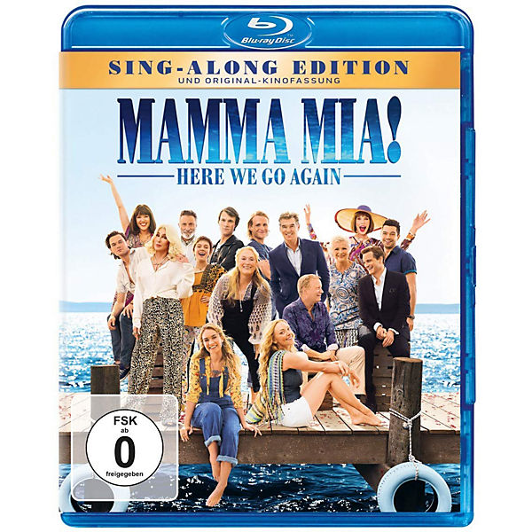 BLU-RAY Mamma Mia: Here We Go Again!