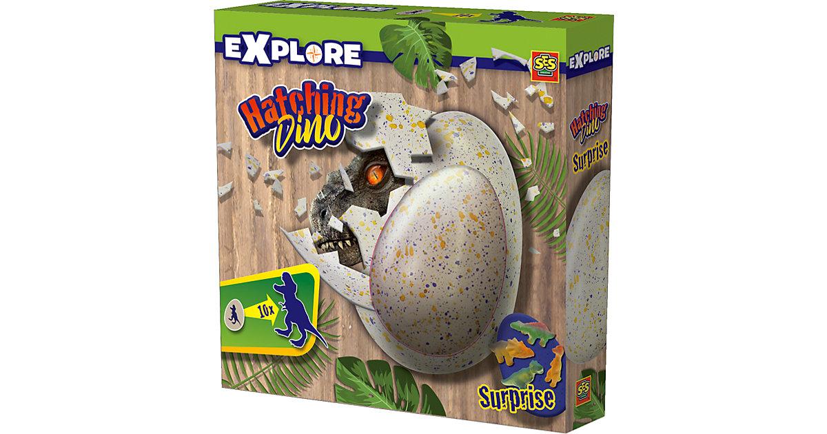 Schlüpfender Dino