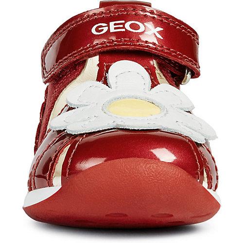 Сандалии GEOX - красный/белый от GEOX