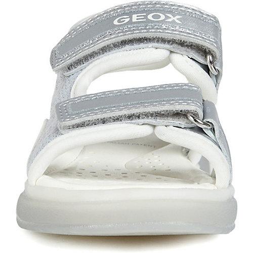 Сандалии GEOX - серебряный от GEOX