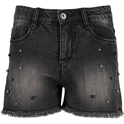 BLUE SEVEN Jeansshorts mit Perlen Gr. 170 Mädchen Kinder   04055852514089