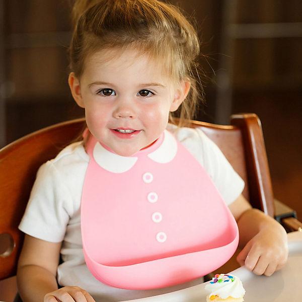 Нагрудник Baby Bib Peter Pan pink