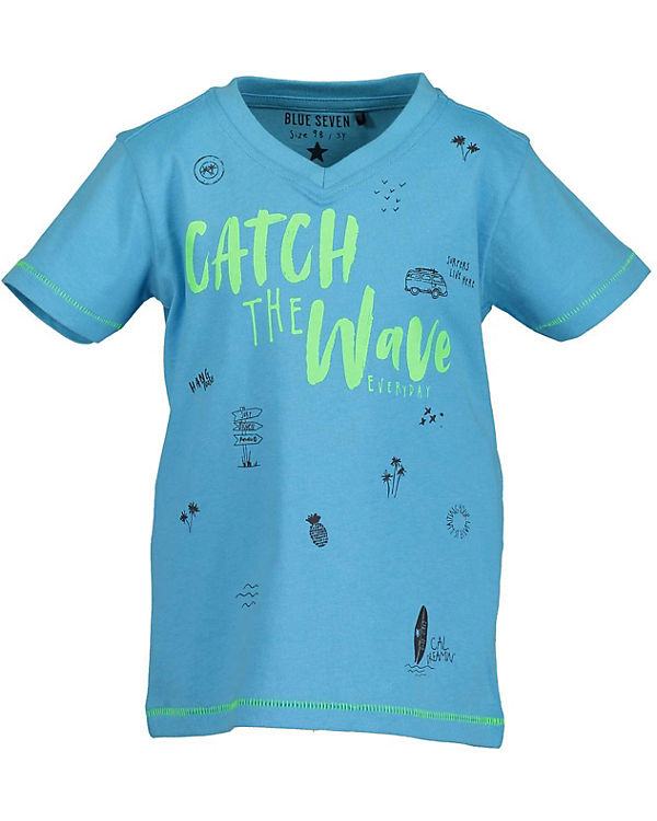00d196b537f T-Shirt für Jungen, BLUE SEVEN