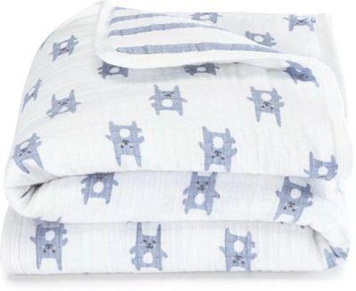 Одеяло из фланели Aden+anais 112х112 см