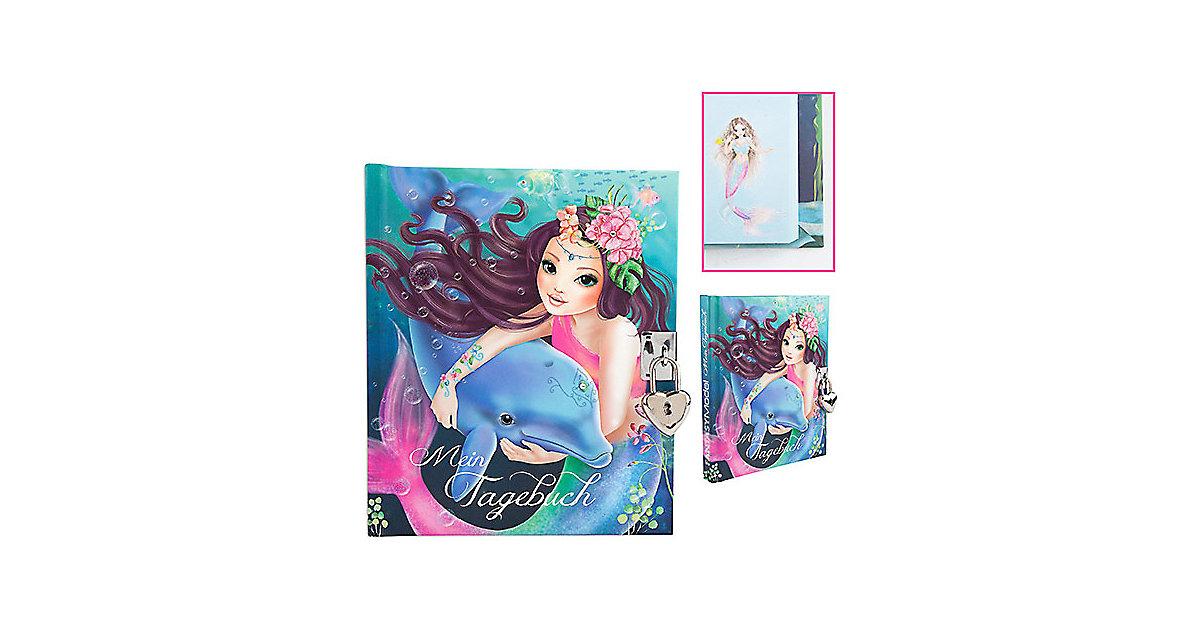 Depesche · Fantasy Model Tagebuch mit Schloss Motiv 1, Delfin
