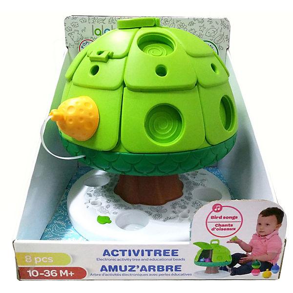 Развивающая игрушка Lalaboom Дерево со звуковыми эффектами, 7 предметов