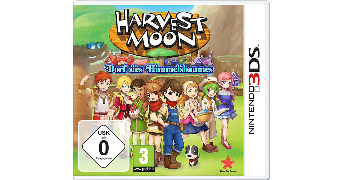 3DS Harvest Moon: Dorf des Himmelsbaumes