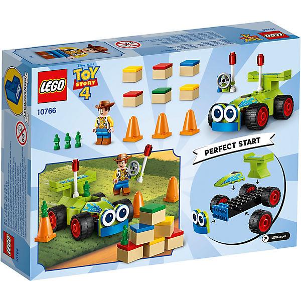 Конструктор LEGO Toy Story 4 10766: Вуди на машине