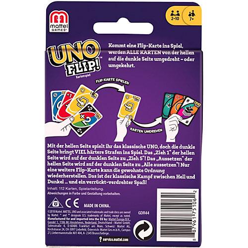 Карточная игра Mattel Games UNO Flip! от Mattel