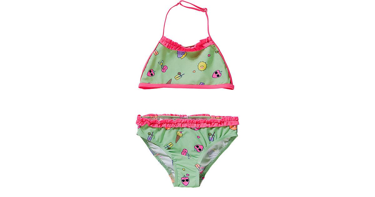 Kinder Bikini NMFZATCHA türkis Gr. 86/92 Mädchen Kleinkinder