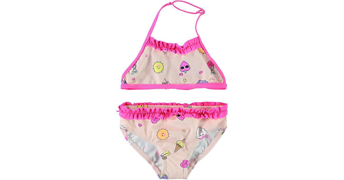 Kinder Bikini NMFZATCHA rosa Gr. 86/92 Mädchen Kleinkinder
