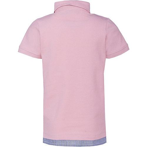 Поло Name It - блекло-розовый от name it