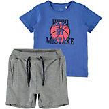Комплект Name It: футболка и шорты