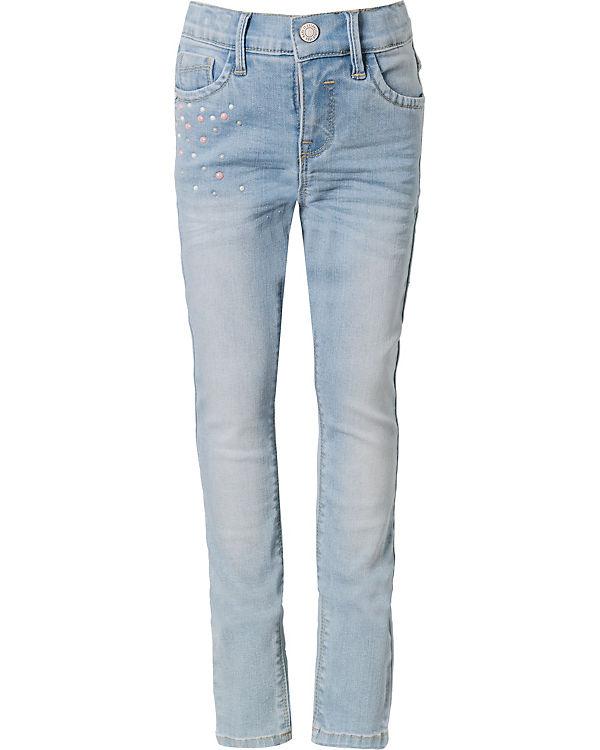 besserer Preis neu authentisch neues Hoch Jeans NKFPOLLY Skinny Fit mit Perlen für Mädchen, Bundweite SKINNY, name it