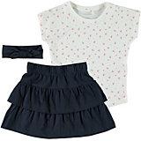 Комплект Name It: футболка, юбка и повязка