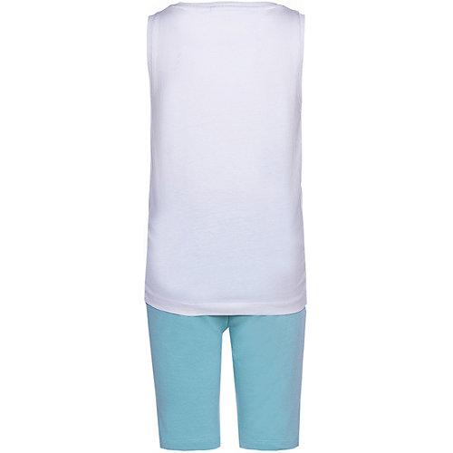 Комплект Name It: майка и шорты - белый от name it