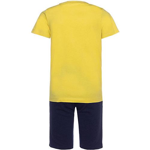 Комплект Name It: футболка и шорты - желтый от name it