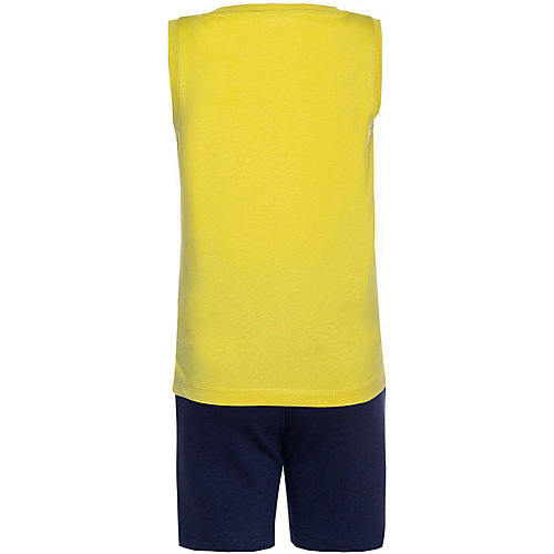 Комплект Name It: майка и шорты - желтый от name it