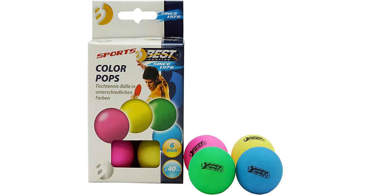 Tischtennisbälle Colour Pops mehrfarbig