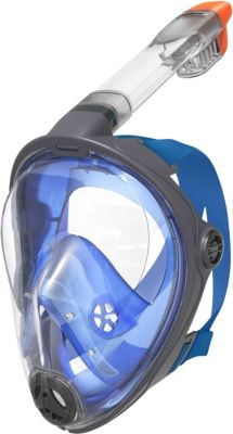 Schnorchelmaske L/XL blau-kombi