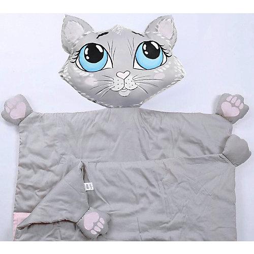 """Плед Ligra """"Кошечка"""", 100x150 см от Ligrasweethome"""