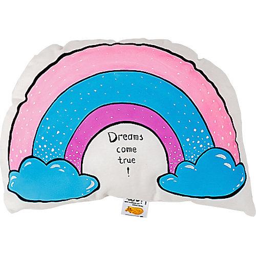 """Подушка Ligra """"Мечты сбываются"""" ручной работы от Ligrasweethome"""