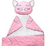 """Плед Ligra """"Свинка"""", 100x150 см, розовый"""