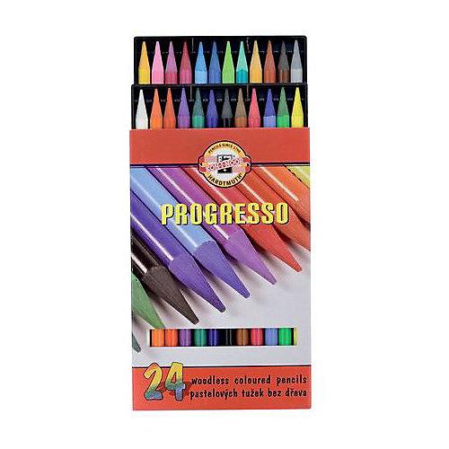 """Набор цветных карандашей KOH-I-NOOR """"Progresso"""", 24 цвета"""