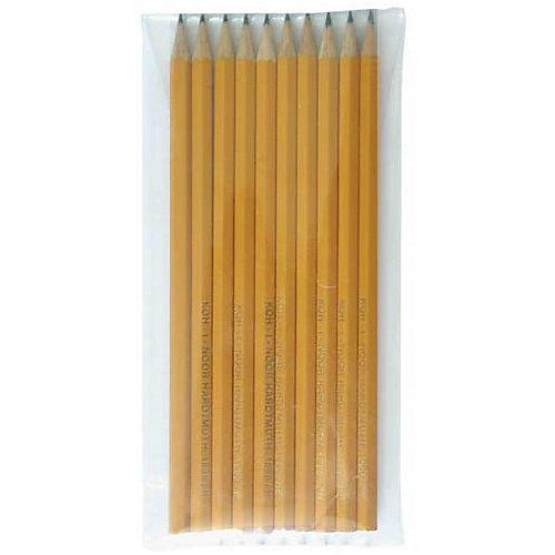 Набор чёрнографитных карандашей KOH-I-NOOR, 10 шт.