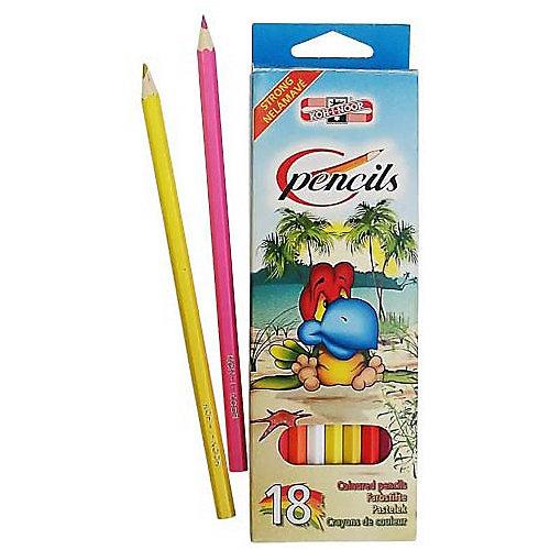 """Набор цветных карандашей KOH-I-NOOR """"Птицы"""", 18 цветов"""