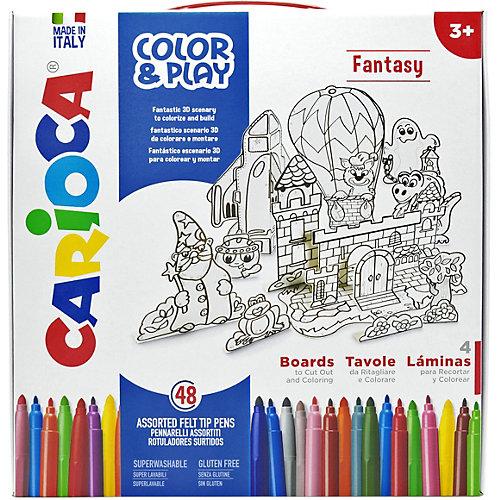 """Набор для рисования Carioca """"Color&Play"""" Fantasy, 52 предмета от Carioca"""