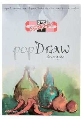 """Папка для рисования KOH-I-NOOR """"Pop Draw"""" А4, 30 листов"""